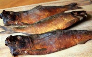Smoked Alewives by Elizabeth Poisson