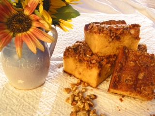 Sour Cream Coffee Cake photo by Frank M. Chillemi