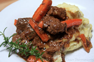 Find the recipe for Bacon and Sage Beef Stew with Pear and Blue Cheese ...