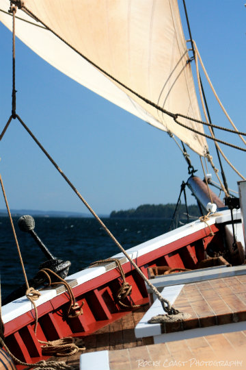 Out on a beautiful Penobscot Bay day... Coming soon!